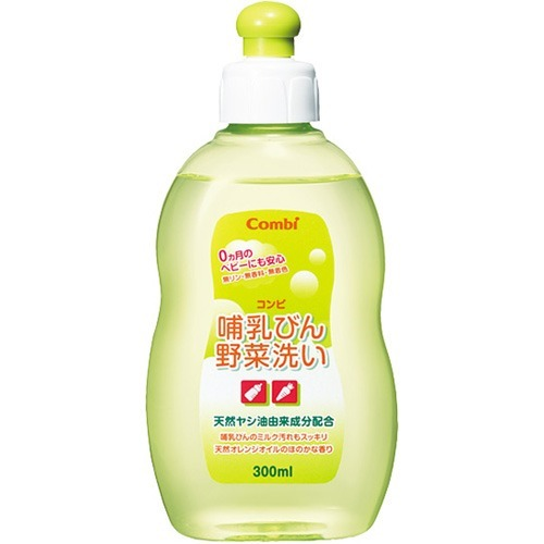 通販 激安◆ コンビ 哺乳びん野菜洗い 宅送 ボトル 300mL
