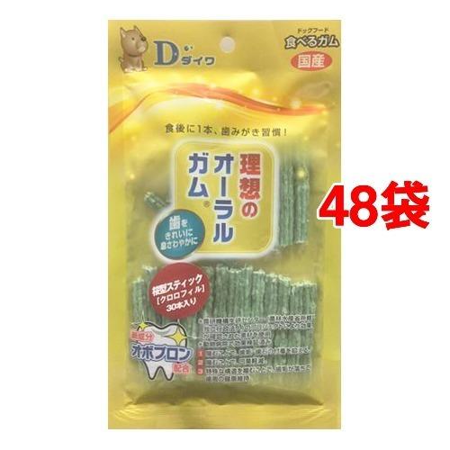 【送料込!】オーラルガム 桜型スティック クロロフィル 30本入*48コセット 【※送料込の価格です。】