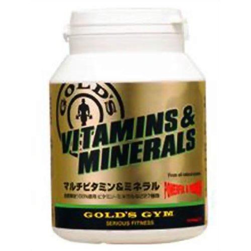 【送料込!】ゴールドジム マルチビタミン&ミネラル G2520(360粒)