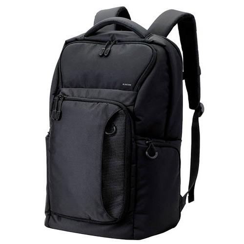 【送料込!】エレコム PCバックパック 高機能タイプ ブラック BM-BP03BK(1コ入)【代引不可】【※送料込の価格です。】