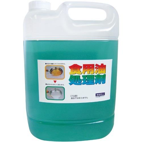 【送料込!】天ぷら油処理剤 油コックさん(5L)【代引不可】【※送料込の価格です。】