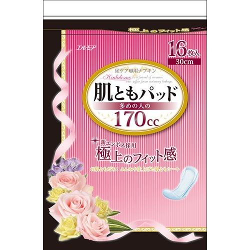 肌ともパッド 新作多数 多めの人の170cc 16枚入 アウトレット☆送料無料