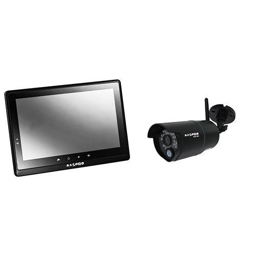 【送料込!】モニター&ワイヤレスフルHDカメラセット 10.1インチ WHC10M2(1セット)【代引不可】【※送料込の価格です。】