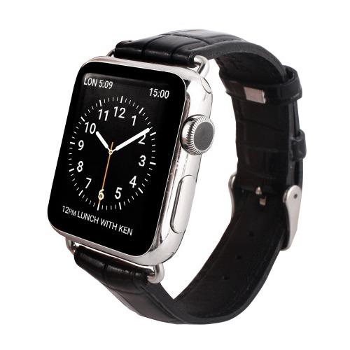 【送料込!】ゲイズ AppLe Watch用バンド38mm ブラッククロコ GZ0478AW(1コ入)【代引不可】【※送料込の価格です。】