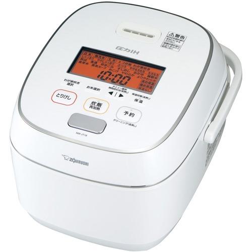 【送料込!】象印 圧力IH炊飯ジャー 1升炊き NW-JT18-WA ホワイト(1台)【※送料込の価格です。】