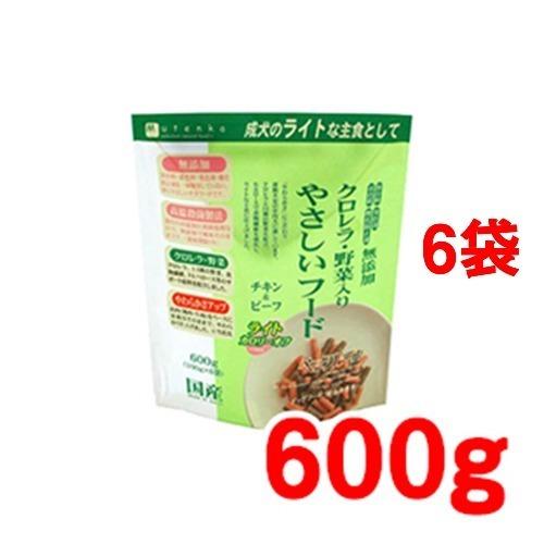 【送料込!】ペッツルート クロレラ・野菜入り やさしいフード ライト 600g*6コセット 【※送料込の価格です。】 【ペッツルート】【ドッグフード(半生・セミモイストフード)】