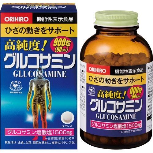 タイムセール オリヒロ 高純度 グルコサミン粒 サプリメント 特別セール品 グルコサミン 900粒