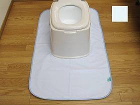 消臭達人 簡易トイレ用防水マット ブルー - 株式会社 トクナガ 入荷予定 WFSTKTBMT-1-BL ブランド激安セール会場