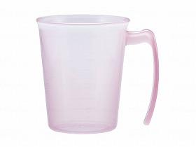 手付きスタッキングコップ ピンク セール特別価格 - 小森樹脂 入手困難