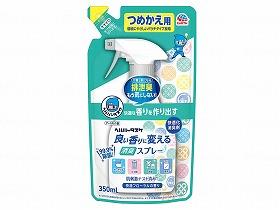 ヘルパータスケ 良い香りに変える消臭スプレー ケース - アース製薬 詰替用350ml 正規販売店 マーケット