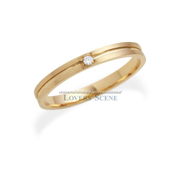 【送料無料】【刻印無料】Lovers&Ring ラバーズリング 10金ピンクゴールドリング(レディース)【LSR0602DPK】【10金 ピンクゴールド リング ペアリング ペア 指輪 ダイヤモンド 対応 プレゼント アクセサリー ジュエリー ダイヤ ギフト 妻 刻印可能】