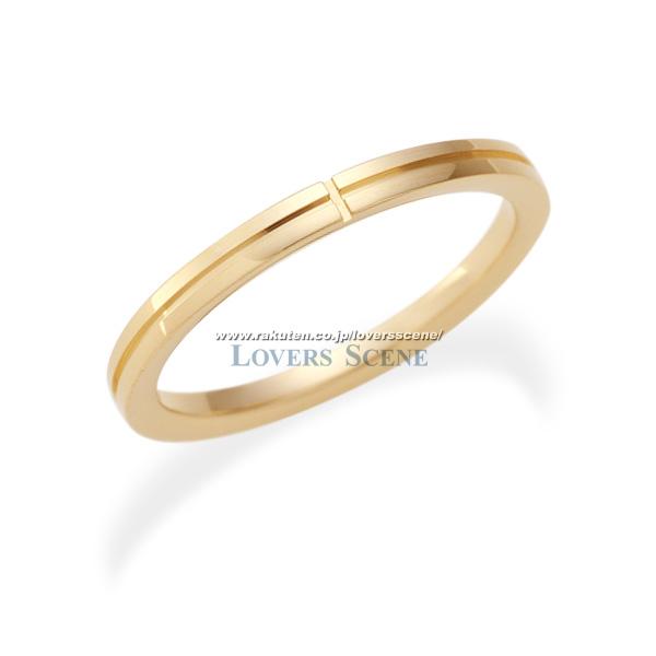 【送料無料】【受注生産】【刻印無料】Lovers&Ring ラバーズリング 10金ピンクゴールドリング レディース LSR0652PK 10金 ピンクゴールド リング ペアリング ペア 指輪 クロス プレゼント ギフト アクセサリー ジュエリー 普段使い