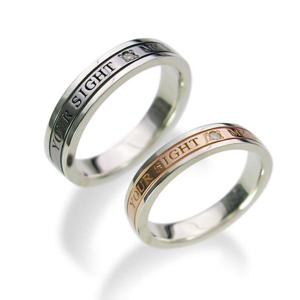 【送料無料&刻印対応】LOVERS SCENE ラバーズシーン シルバーペアリング LSR0076DBK-DPK シルバーリング ペアリング ペア 指輪 ダイヤモンド 誕生日 リング 刻印 シルバー アクセサリー ギフト ペアリングシルバー レディース プレゼント 普段使い