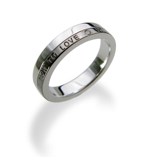 【送料無料&刻印対応】LOVERS SCENE ラバーズシーン シルバーリング メンズ LSR0078DBKRM シルバーリング ペアリング ペア 指輪 ダイヤモンド プレゼント リング 刻印可能 シルバー アクセサリー ジュエリー ダイヤ かわいい 普段使い