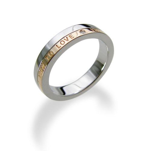 【送料無料&刻印対応】LOVERS SCENE ラバーズシーン シルバーリング レディース LSR0078DPKRM シルバーリング ペアリング ペア 指輪 ダイヤモンド ピンクゴールド刻印対応 プレゼント リング 刻印 シルバー ジュエリー ダイヤ かわいい 誕生石 プレゼント 普段使い