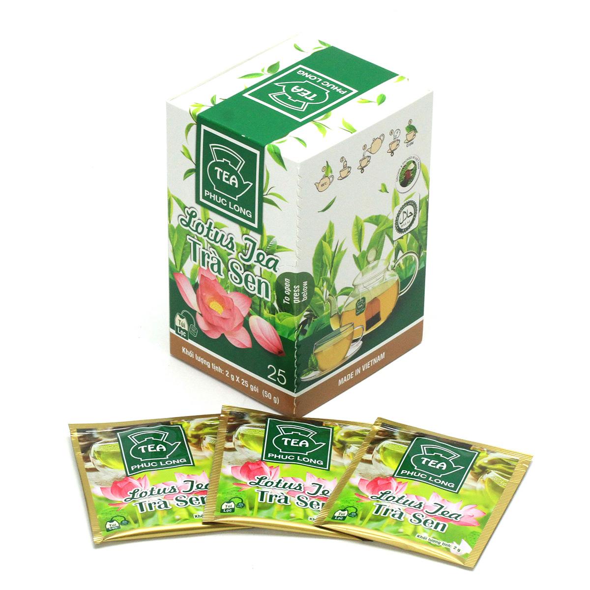 PhucLong ハス茶 ティーバッグ 25袋入(蓮花茶)ベトナム 蓮茶
