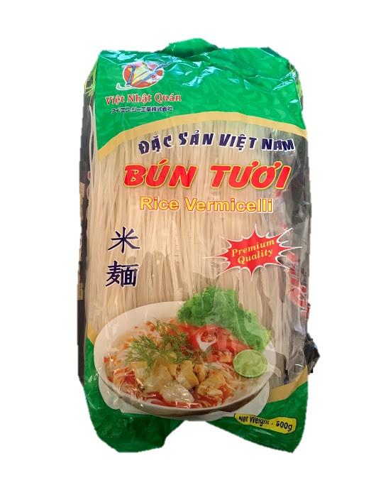 HUONG NAM ブン(ベトナムビーフン) 500g 30袋 Bun tuoi HUONG NAM 500g 30goi 【アジアン、エスニック、ベトナム食材、ベトナム食品、ベトナム料理、ライスヌードル、ブン、ビーフン、チリソース】