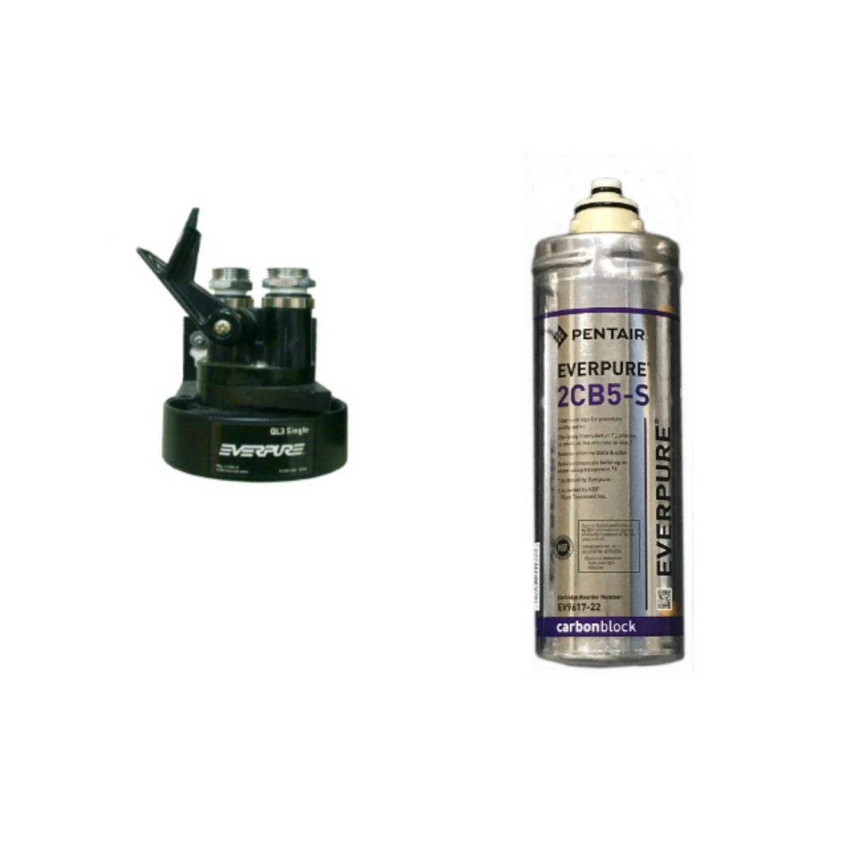 【新規設置仕様】エバーピュア浄水器QL3-2CB5-S
