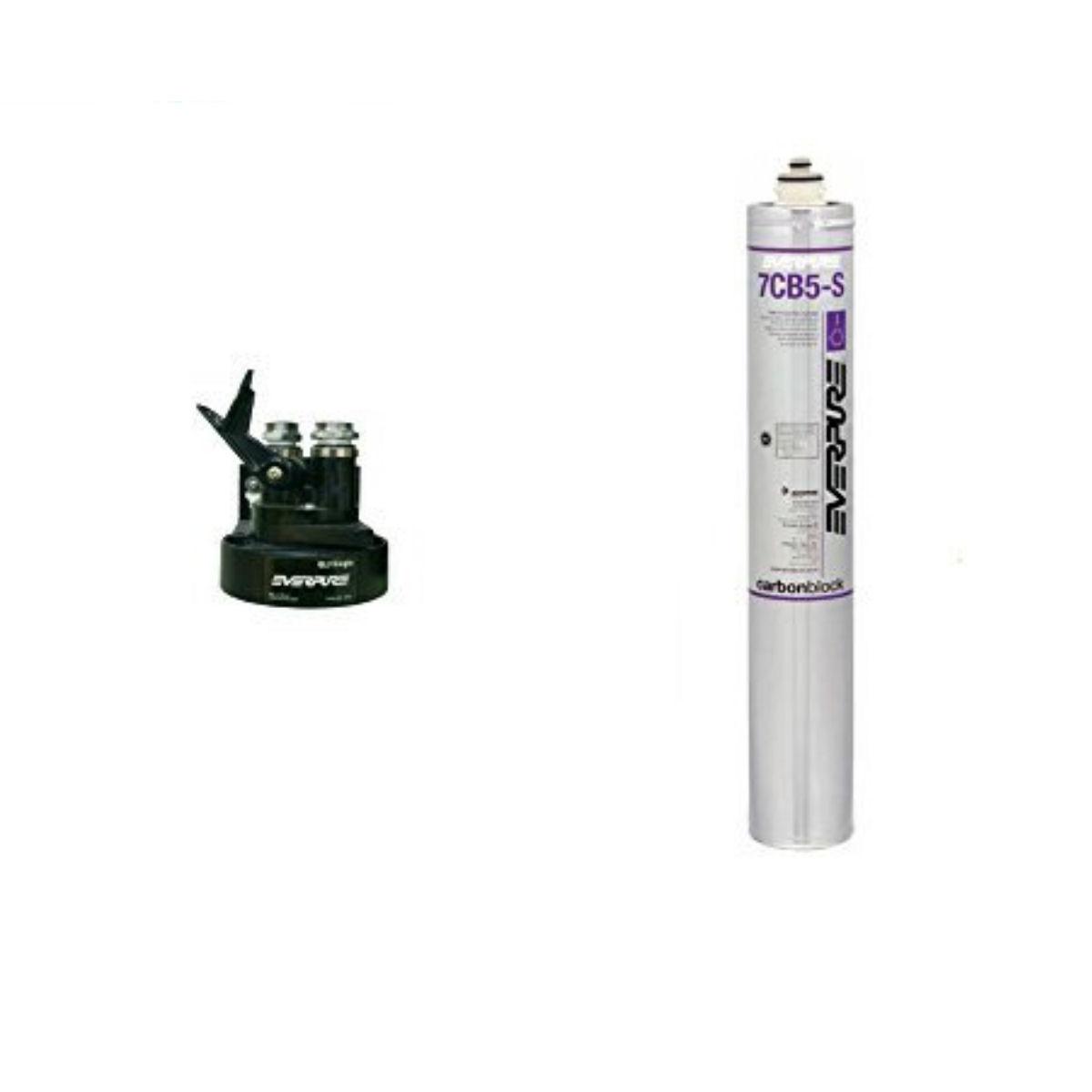 新規設置仕様 エバーピュア浄水器ヘッドフィルタセット品 QL3-7CB5-S