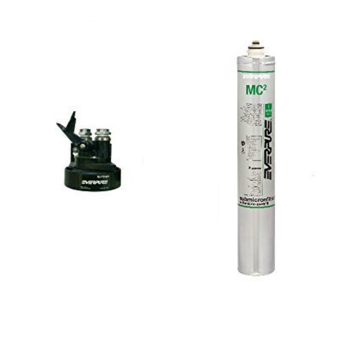 新規設置仕様 エバーピュア浄水器ヘッドフィルタセット品 QL3-7MC2