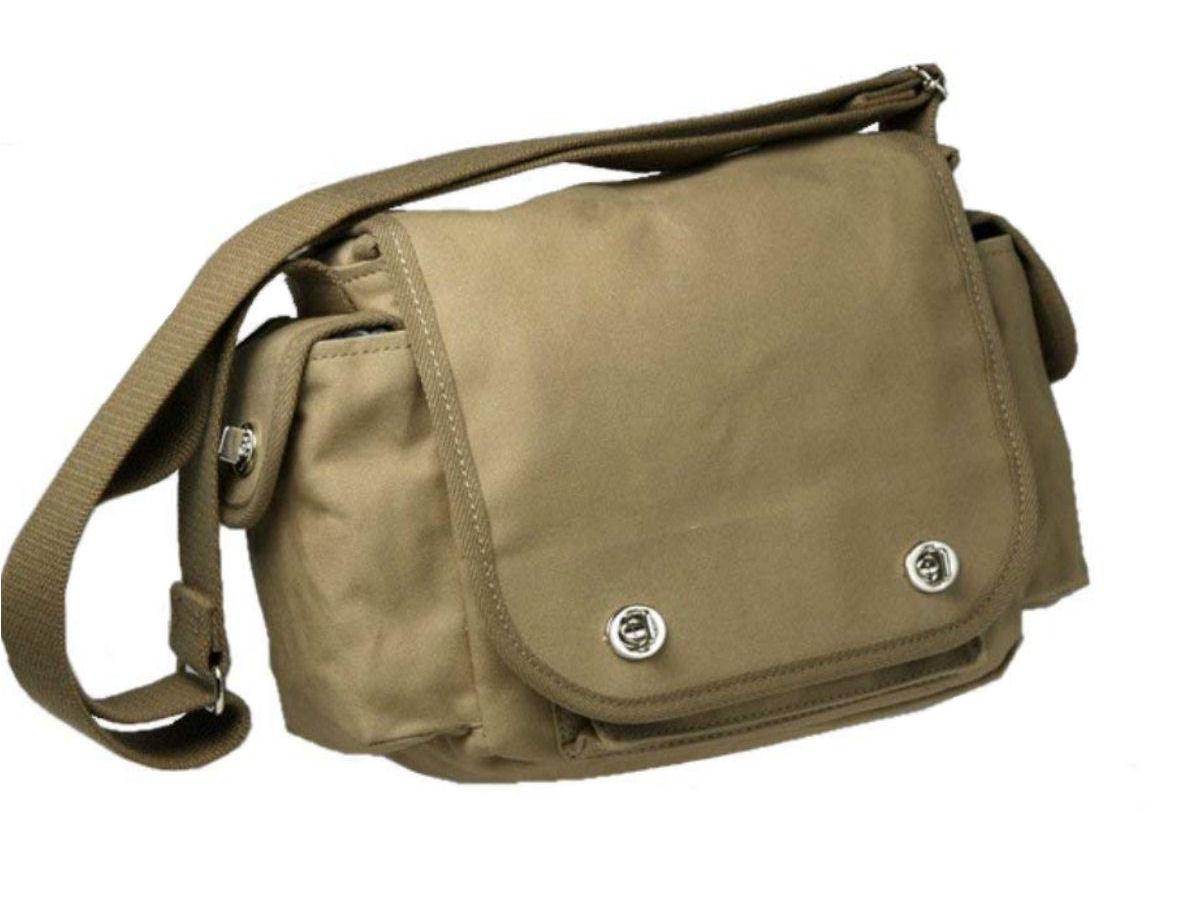 布製野外調査鞄 Cotton Field Bag ヨコ型C