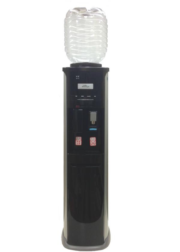 ウォーターサーバー据置型 JCH-7030 専用12リットルボトル2本つき