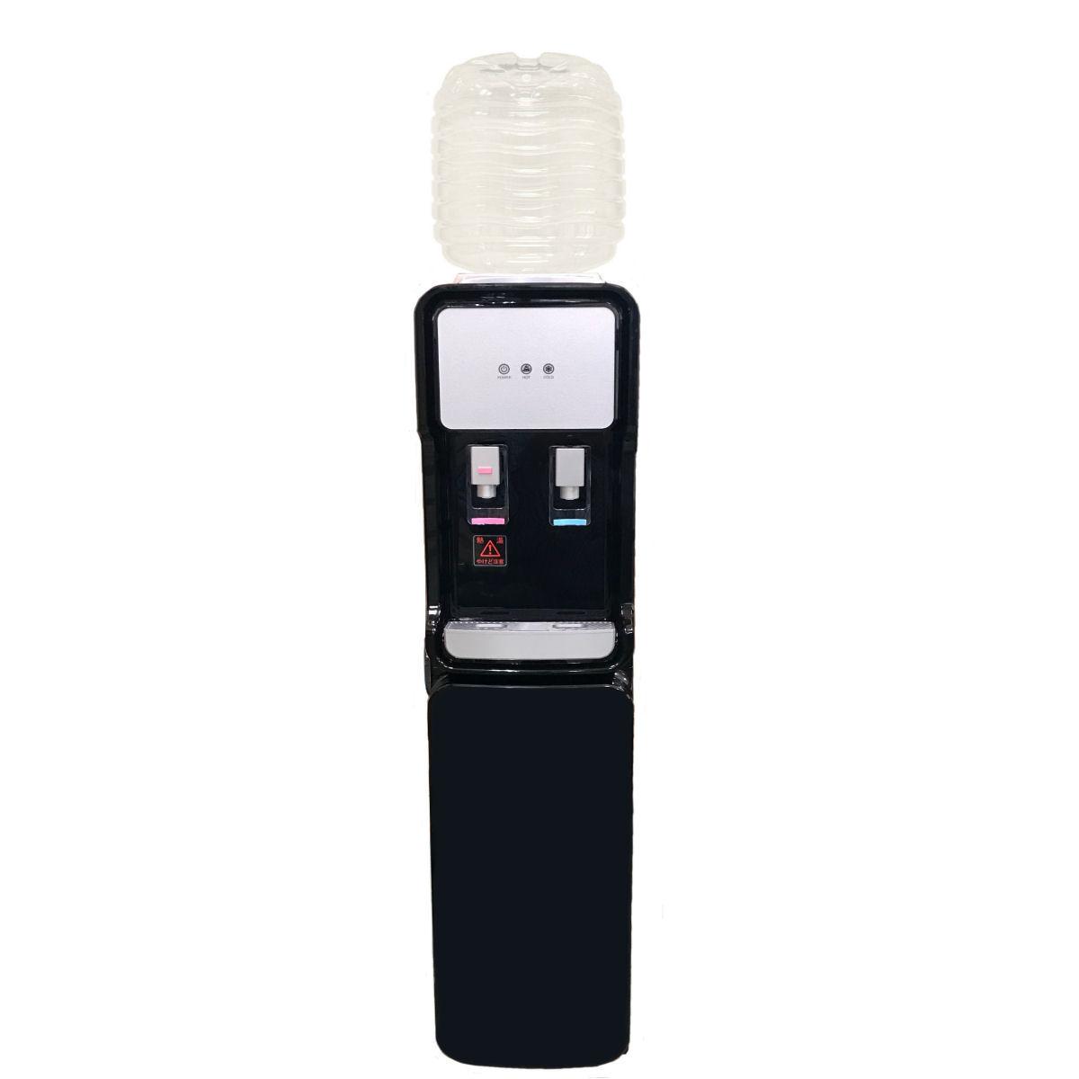 ウォーターサーバー据置型 GD-501 ブラック  専用12リットルPETボトル2本つき