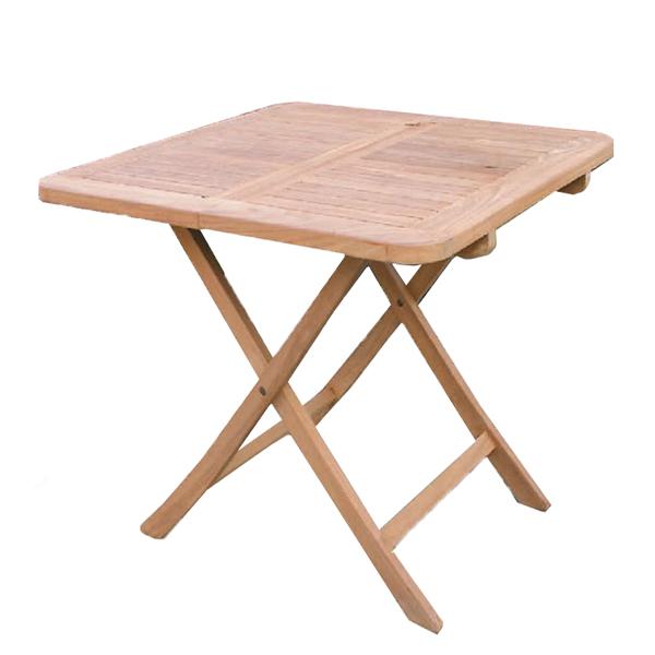 折り畳みスクエアテーブル/ガーデンテーブル アウトドア