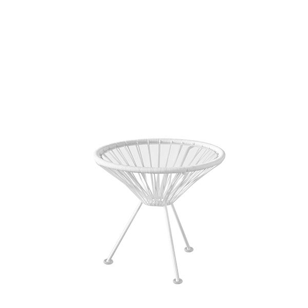 【8/4-8/9エントリーでポイント10倍】アカプルコ サイドテーブル マキシマム ホワイト 【特別カラー】Acapulco Side Table METROCS メトロクス 2018年特別モデル 白