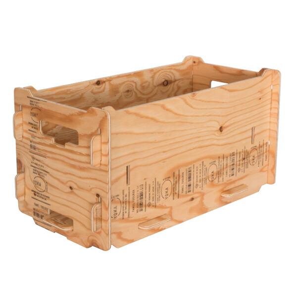 YOKA ヨカ パネル ツール ボックス 日本製 キャンプ アウトドア レジャー コンパクト 組み立て 折りたたみ 木製 (塗装済み職人仕上げ)