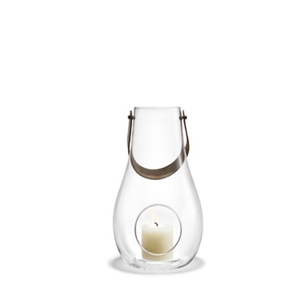 ホルムガード ランタン クリア H29cm Lサイズ HOLME GAARD キャンドル テーブルライト ガラス デンマーク 北欧 DESIGN WITH LIGHT