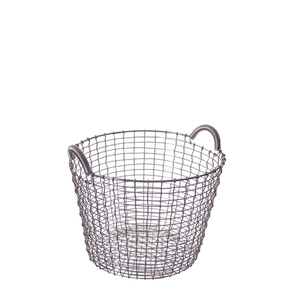 KORBO コルボ CLASSIC 24 ステンレス ワイヤー バスケット かご ガーデニング ランドリー おしゃれ