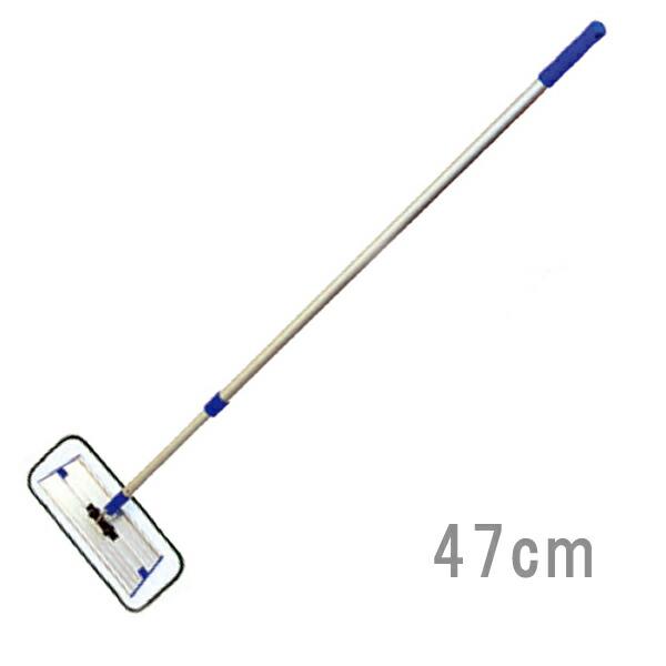【8/4-8/9エントリーでポイント10倍】MQプレミアムモップセット47cm BL 360度の可動域で床も壁もお掃除 マイクロファイバー 軽量 MQ Duotex