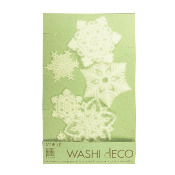 christmas snowflake 6 peace mobile 602 window of the snowflake ornament mino washi paper handmade watermark display window decorations