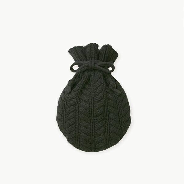 湯たんぽ ブラック ケース付 FD STYLE エフディ― スタイル クリスマス ギフト 温活 シンプル 可愛い