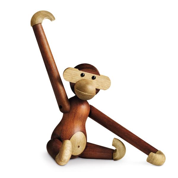モンキー M MONKEY KAY BOJESEN DENMARK カイ ボイスン デンマーク サル 木製 オブジェ インテリア アニマル 動物