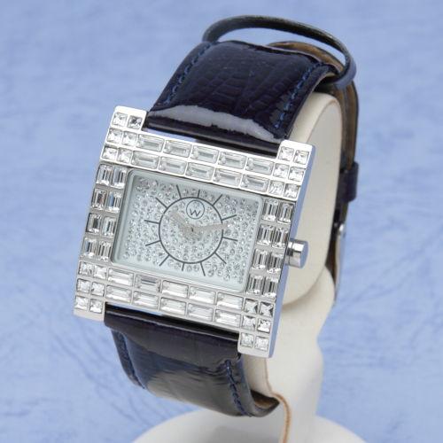 スワロフスキー 腕時計 ポートヴィラ ブルー Port Vila blue オリバーウェバー(OLIVER WEBER) プレゼント メンズ レディース あなたのハートを鷲掴み 誕生日 おしゃれ ギフト