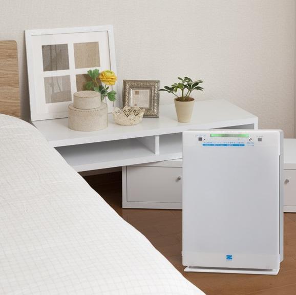 空気清浄機 エアフォレスト 5層タイプ ゼンケン PM2.5 空気清浄器 ホワイト タバコ 花粉 ペット PM2.5対策 脱臭 消臭 クリーン 花粉 ウィルス ハウスダスト対策 リビング 寝室