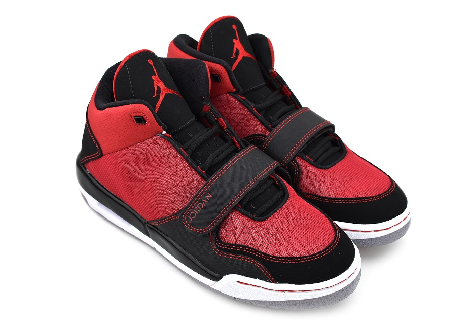 NIKE JORDAN FLTCLB 90's GS GYM RED/GYM RED-BLACK-CMNT GRY ナイキ ジョーダン フライト クラブ 90 GS