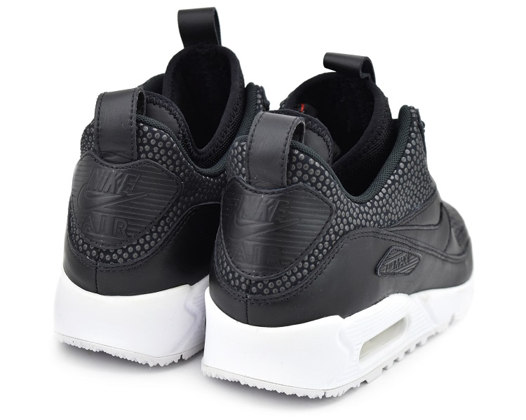 NIKE AIR MAX 90 SNEAKERBOOT TECH BLACKBLACK SUMMIT WHITE Kie Ney AMAX 90 sneakers boots technical center