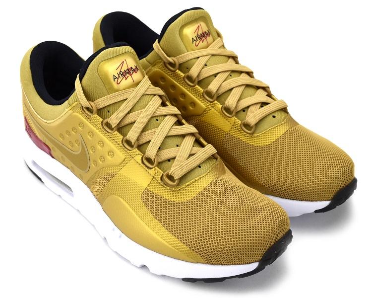 Nike WMNS Air Max Zero QS Metallic Gold/Varsity Red-White