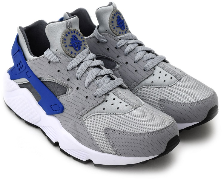 NIKE AIR HUARACHE WOLF GREY/GAME ROYAL-DARK GREY ナイキ エア ハラチ:ヴィレコ 店
