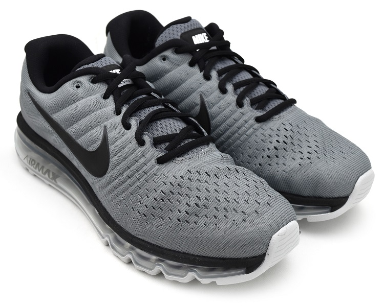 low priced 13924 d5ebb NIKE AIR MAX 2017 COOL GREY/BLACK-PURE PLATINUM Kie Ney AMAX 2017