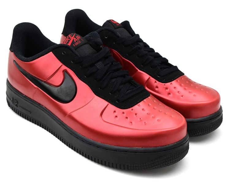 detailed look 3eda7 f9135 NIKE AIR FORCE 1 FOAMPOSITE PRO CUP GYM RED/BLACK Nike air force 1 フォームポジット