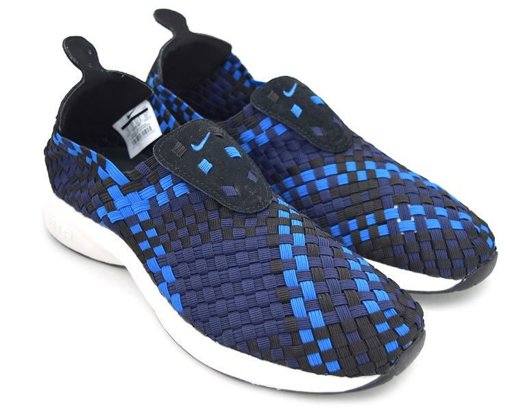 NIKE AIR WOVEN BLACK/BLUE NEBULA ナイキ エア ウーブン