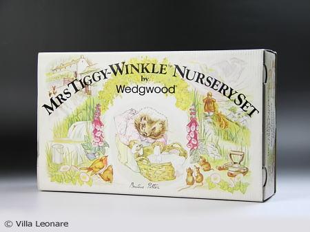 【ウエッジウッド】ミセス ティギー ウィンクル マグ&ボウル&プレート3点セット(ボックス付)