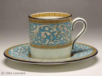 綠松石的讚美杯 & 飛碟 (咖啡)