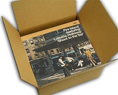 初売り ダンボール収納ダンボール引越しダンボールダンボール箱段ボール整理整頓収納新生活引越し祝い引っ越しダンボールすきま収納梱包用品梱包資材梱包レコードレコード収納レコード通販 激安価格と即納で通信販売 LPレコード~20枚用