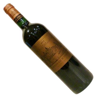 【ボルドーワイン】【赤ワイン】シャトー・ディッサン 2012 [フランス][フルボディー]