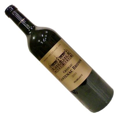 【ボルドーワイン】【赤ワイン】シャトー・カントナック・ブラウン 2010 [フランス][フルボディー]